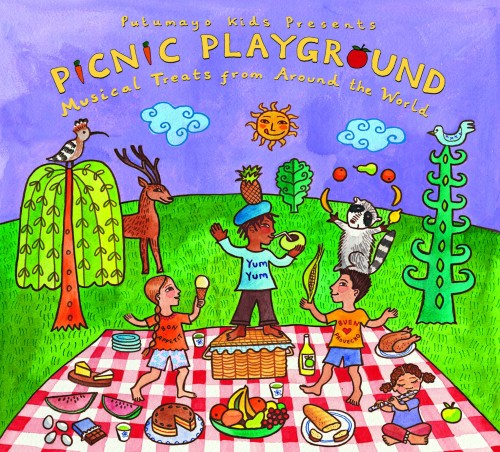 Picnic Playground CD Cover Image - PRINT